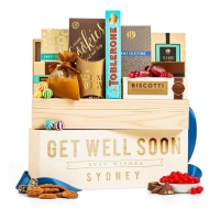 Gourmet Get Well Personalized Crate